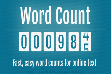 The importance of having a word counter.  See what the pro's do.